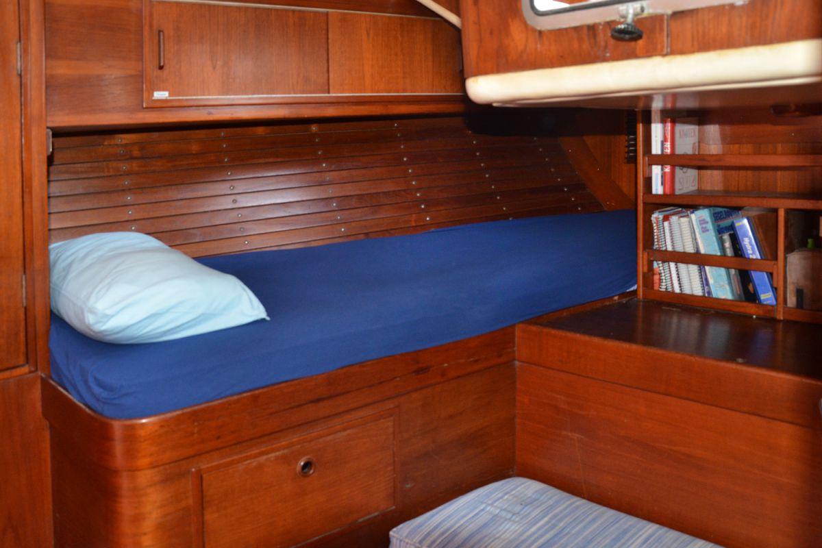 Cabin in the stern of the Montana